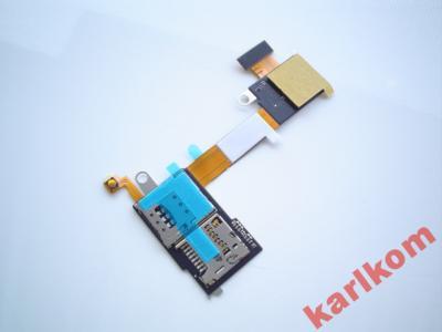 Zlacze Slot Czytnik Karty Sim Sony Xperia M2 D2305 5205300056