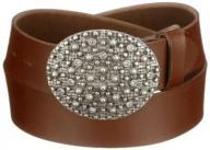 MGM Women's Belt, Brown - Braun (cognac 4), 105 cm