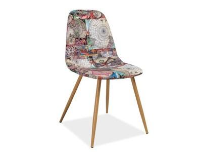 Krzesło drewniane CITI dąbmapa SIGNAL 48H