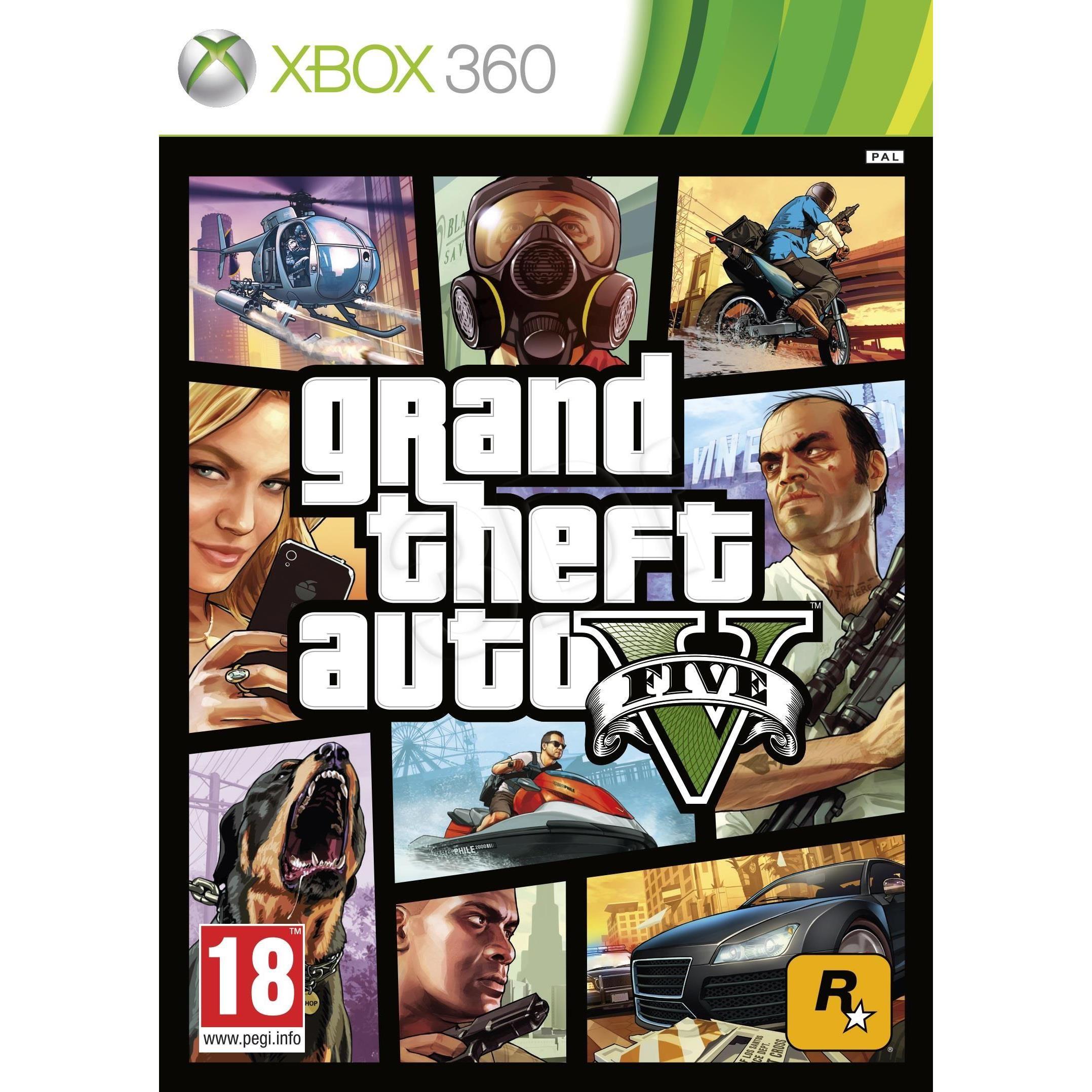 Gra Xbox 360 Grand Theft Auto V 6997665635 Oficjalne Archiwum Allegro