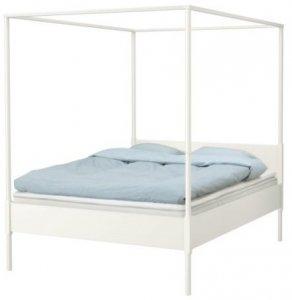 łóżko Z Baldachimem Ikea Edland 160x200 Kraków 6592364430