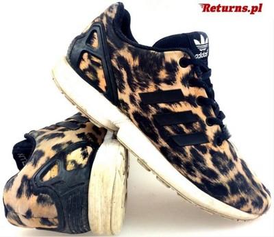 4339bb56217 Oryginalne Adidas Zx Flux Leopard Printl r. 40 - 6790996001 ...