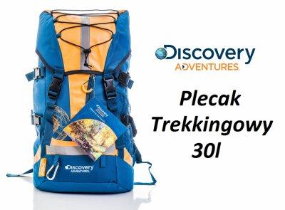 Plecak TREKKINGOWY Turystyczny DISCOVERY Adven 30L - 6205801303 ... 346f90534ffc5