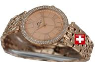 ROSEGOLD BISSET ANDORO BSBD80 EXCLUSIVE SWISS MADE