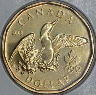 1 $ Kanada 2008 Olimpijska
