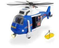 Helikopter ratowniczy niebieski 40 cm