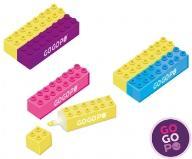 GoGoPo zakreślacze KLOCKI pisz 2 kolorami