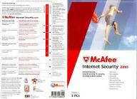 McAfee Internet Security 2010 pc angielskie