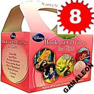 8 KSIĄŻEK + 8 PŁYT AUDIO CD DISNEY GIRLS Gamaleon