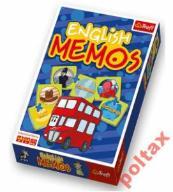 English Memos Gra dla dzieci 3+ wyd. TREFL 30 par