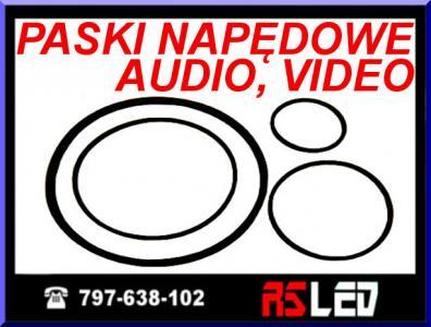 Pasek napędowy audio video 1,5 1,2 1 0,8 2 wybór !