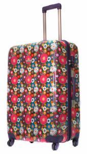 Duża kolorowa walizka Travelite Magic, dwa gratisy