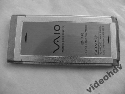 Adaptor Kart Sd Xd Na Sxs Do Sony Pmw Ex1 Ex3 Pmw 6752034245