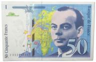28.Francja, 50 Franków 1997, P.157A.d, St.2/3+