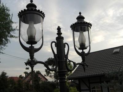 Lampa Ogrodowa Duża Idealna To Nie Castorama