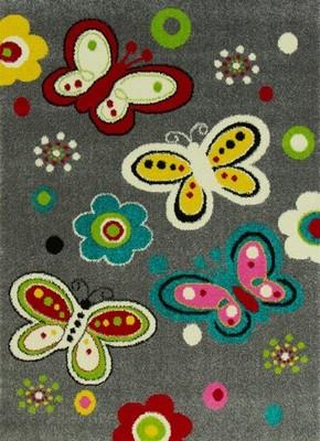 Dywany Dla Dzieci 140x190 Dywan Dziecięcy Motyle