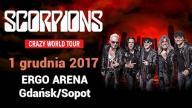 Bilet na koncert Scorpions Ergo Arena 01.12.2017
