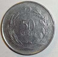 50 KURUS 1974