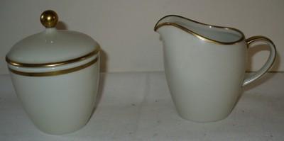 Stara porcelanowa cukiernica i mlecznik Bavaria