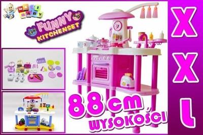 Duza Kuchnia Dla Dzieci Woda Palniki Swiatla Hit 6872610740