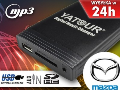ZMIENIARKA MP3 SD USB MAZDA 2 3 5 6 323 CX-7 RX-8