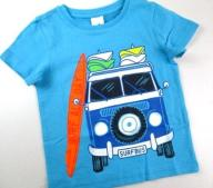 *C&A* __ T-SHIRT __ SURFBUS __ turkus __ 92