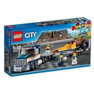 LEGO City Klocki Transporter dragsterów 60151