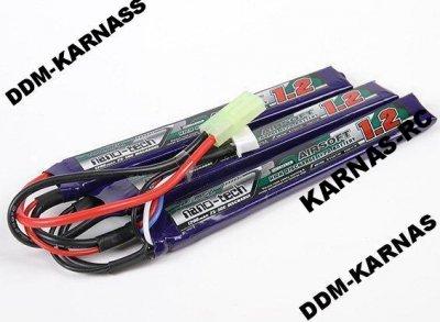 BATERIA LI-PO 11,1V 3S 1200mAh 15C/25C TURNIGY ASG