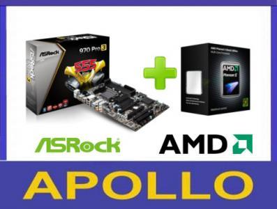 PHENOM 965 X4 4x3,4 + ASRock 970 Pro3 SATA3 USB3