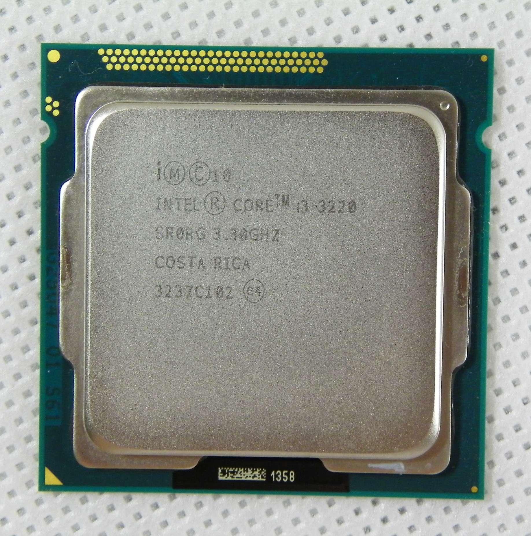 Intel Core i3-3220 2x3.3GHz LGA1155 22nm HT Gw+Pas