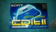 KASETA Sony CDitII 90 Chrome - NOWA, ZAFOLIOWANA