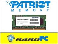 PATRIOT 8GB RAM SODIMM DDR3 1333MHz CL9 -1 moduł