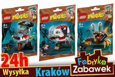 Lego Mixels 41566 41567 41568 3 Sztuki 6586168333