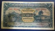 TRYNIDAD I TOBAGO 1 DOLLAR 1942 r.
