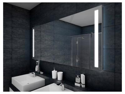 Lustro Podświetlane Led 60x75 Lustro Do łazienki