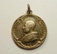 Watykan. Papież Leon XIII. Śred. 26 mm. Ładny(557)