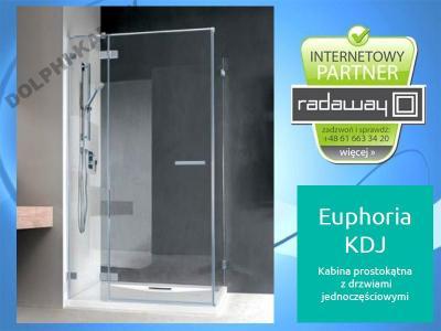 Kabina Prysznicowa Euphoria Kdj 120x90 Radaway 5405515352