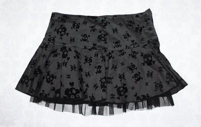 Spódnica w czaszki mini H&M 36