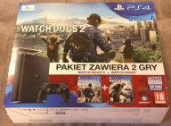 Konsola SONY PlayStation 4 Slim 1TB +2xWatch Dogs