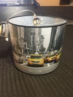 Lampa wisząca New York z żółtymi taksówkami