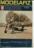 Modelarz 9/1970 Spitfire IX,kliper Ariel,WKD EN-80