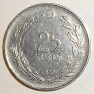 25 KURUS 1970