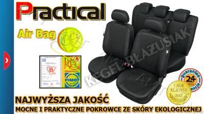 POKROWCE SKÓRZANE FORD Fiesta MK4-MK5-MK6-MK7