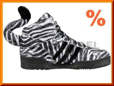 Rabat Damskiemęskie Oryginały Adidas Jeremy Scott Zebra