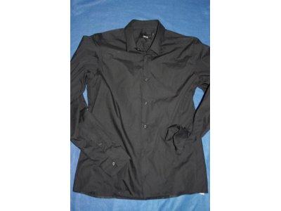 czarna klasyczna koszula r M asos