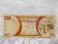 GUJANA 50 DOLLARS 2016 r. St. (1/1-)