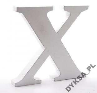Duża Drewniana Litera X 18 Cm Kurier 990 5614936752 Oficjalne