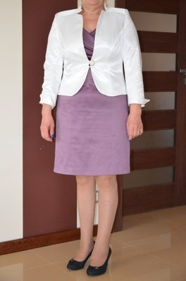 3820e4a959 Elegancka garsonka sukienka i marynarka 44 - 6781342595 - oficjalne ...