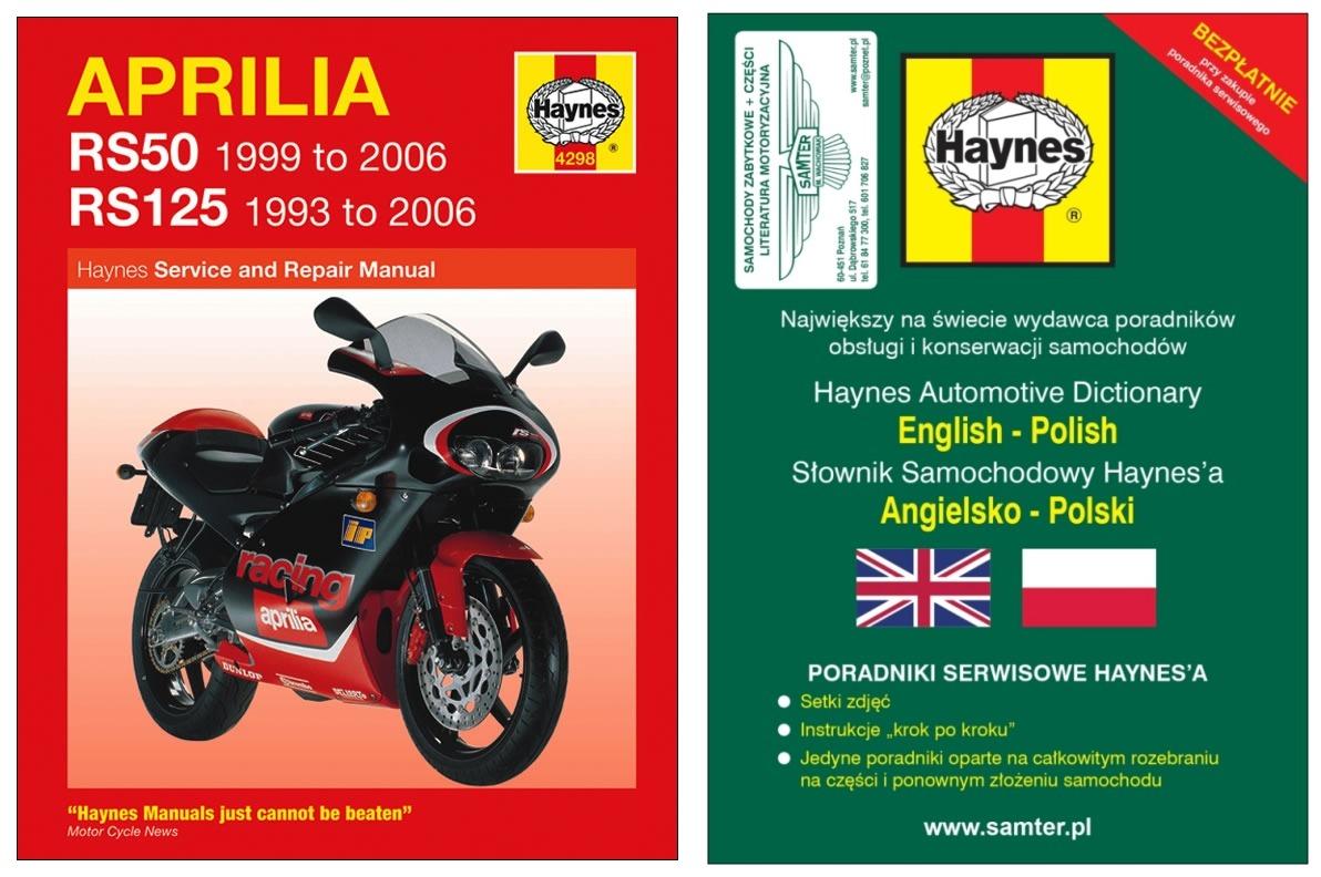 APRILIA RS 50 RS125 Extrema Racing 1993-06 Haynes