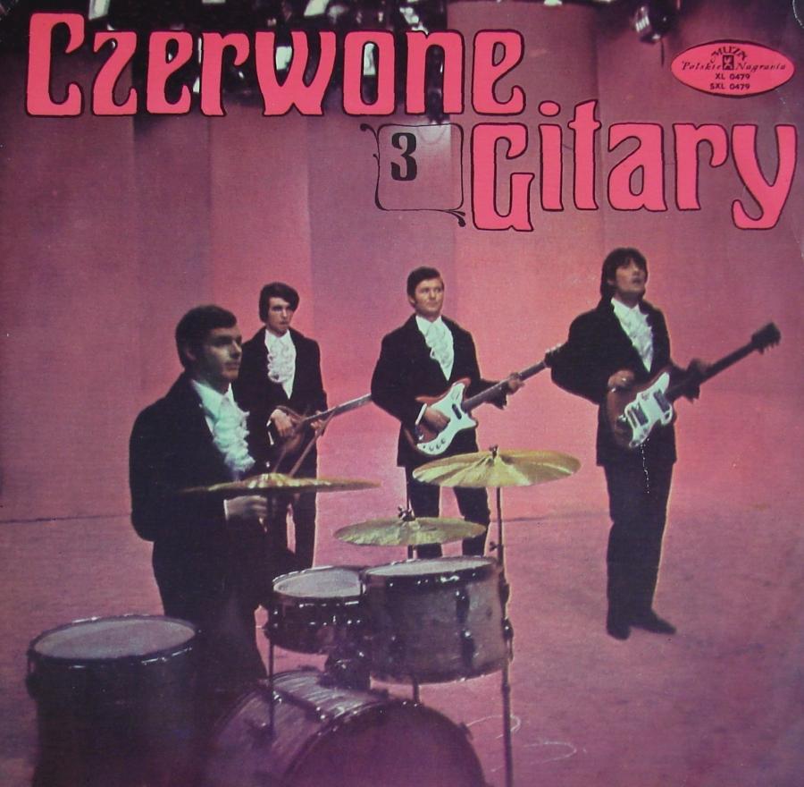 CZERWONE GITARY - 3 - (1968 r. - mono)